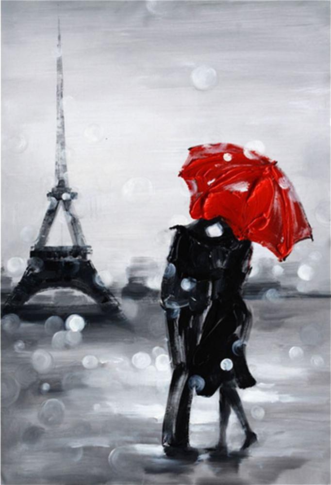 Картина маслом  Французская любовь