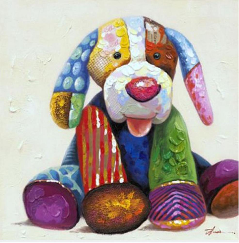 Картина маслом  Игрушка