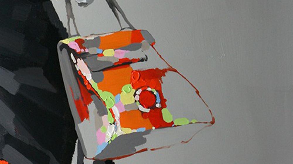 Картина маслом  Сумочка - 2