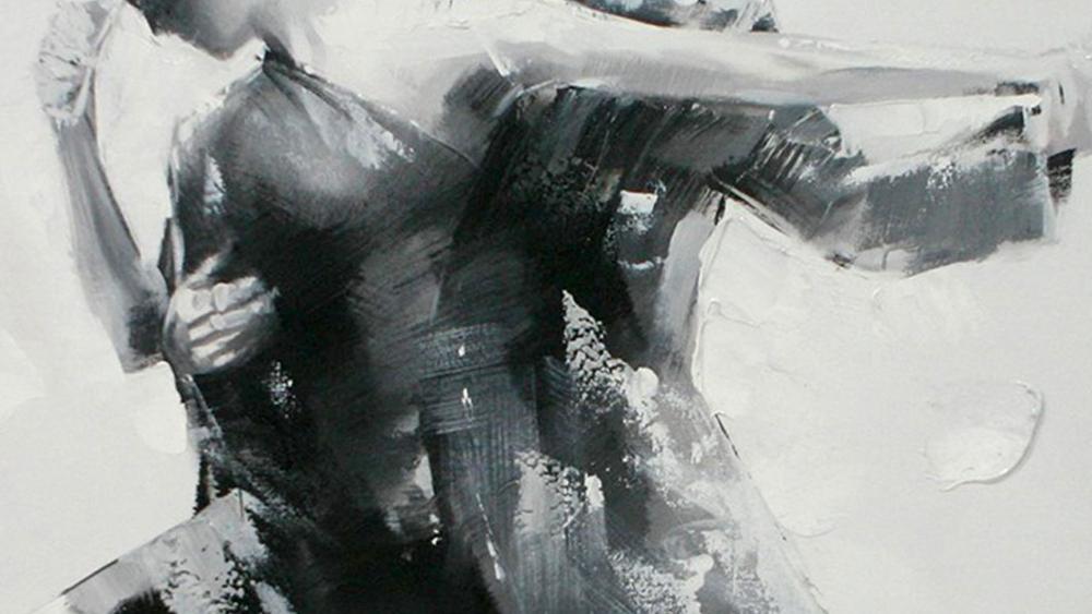 Картина маслом  Джаз-2