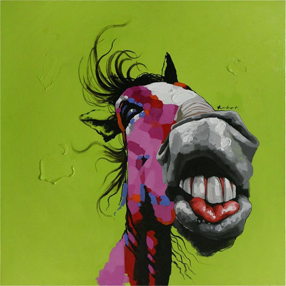 Картина маслом  Лошадь