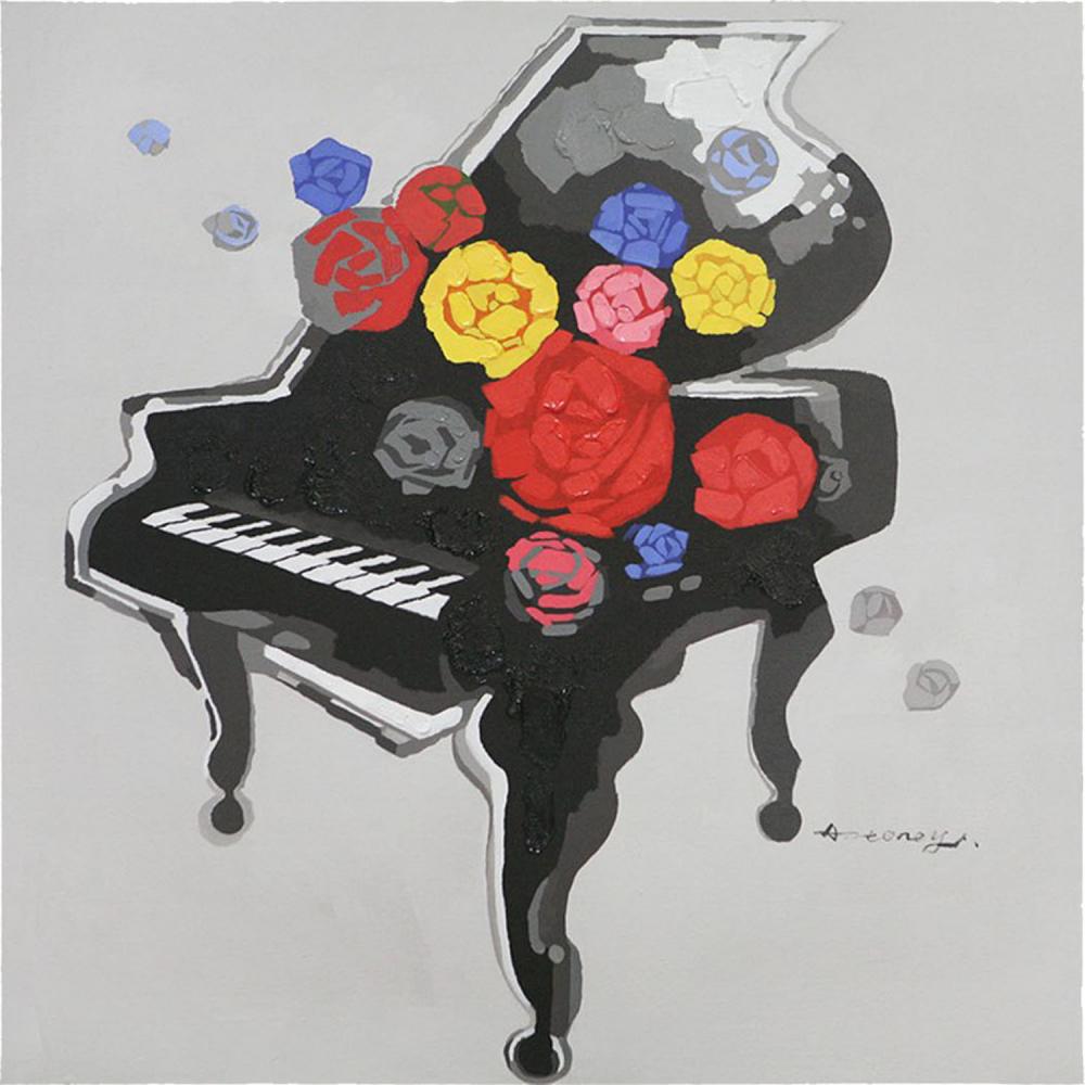 Картина маслом  Фортепиано