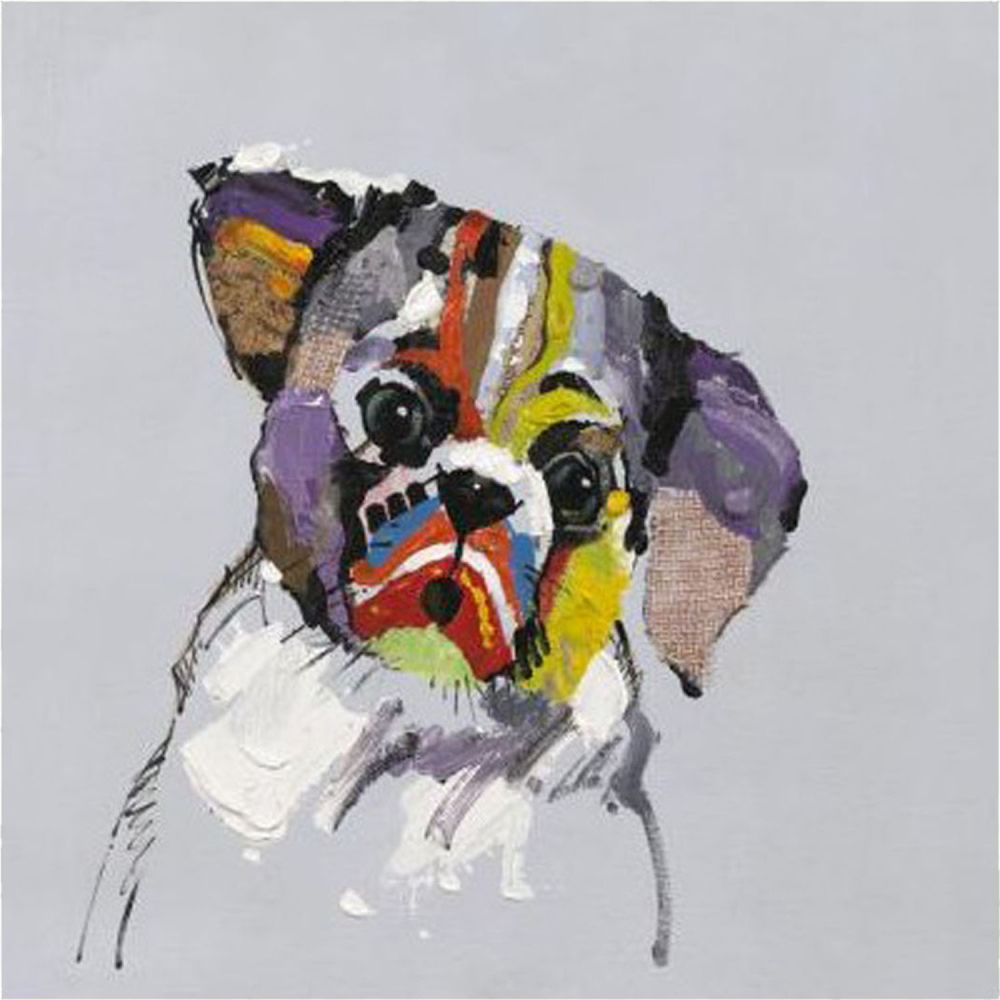 Картина маслом  Собачья печаль