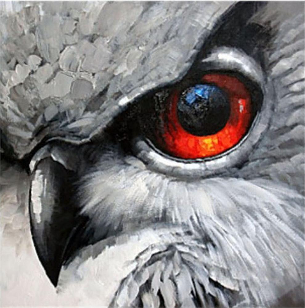 Картина маслом  Орлиный глаз