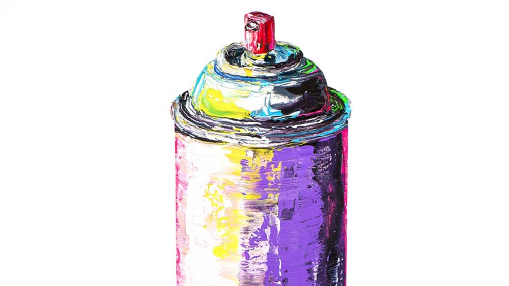 Картина маслом  Спрей
