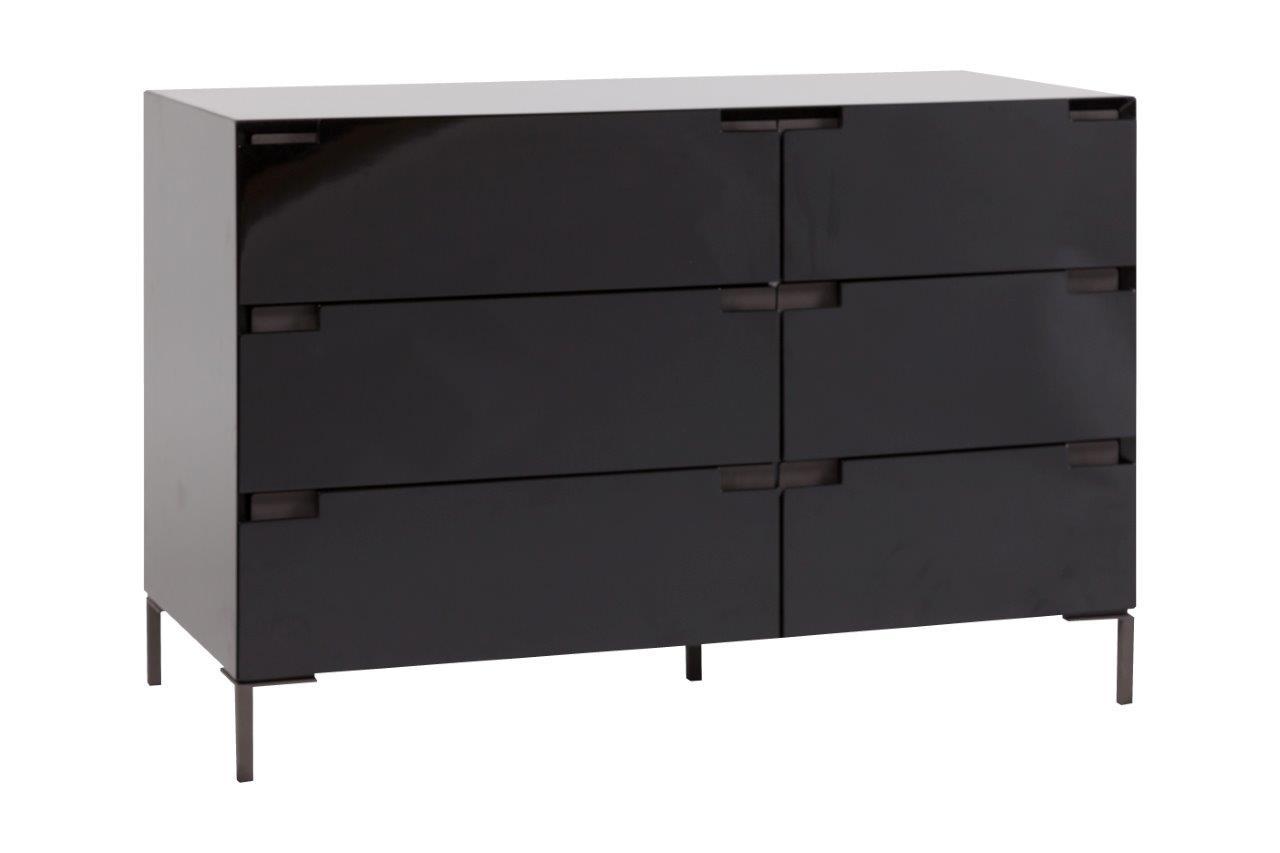 Купить Тумба Miramonte Black Varnish в интернет магазине дизайнерской мебели и аксессуаров для дома и дачи