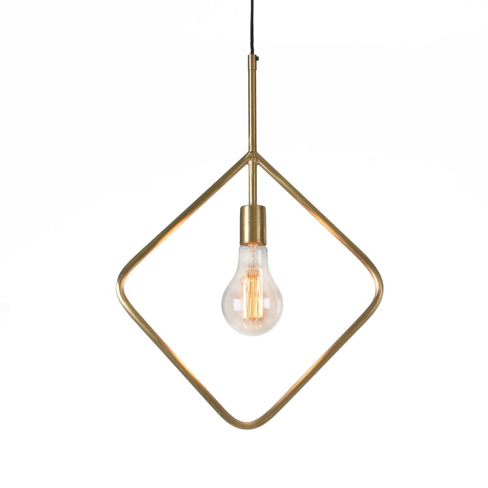 ADDRA Подвесная лампа металлическая латунь AA0728R53