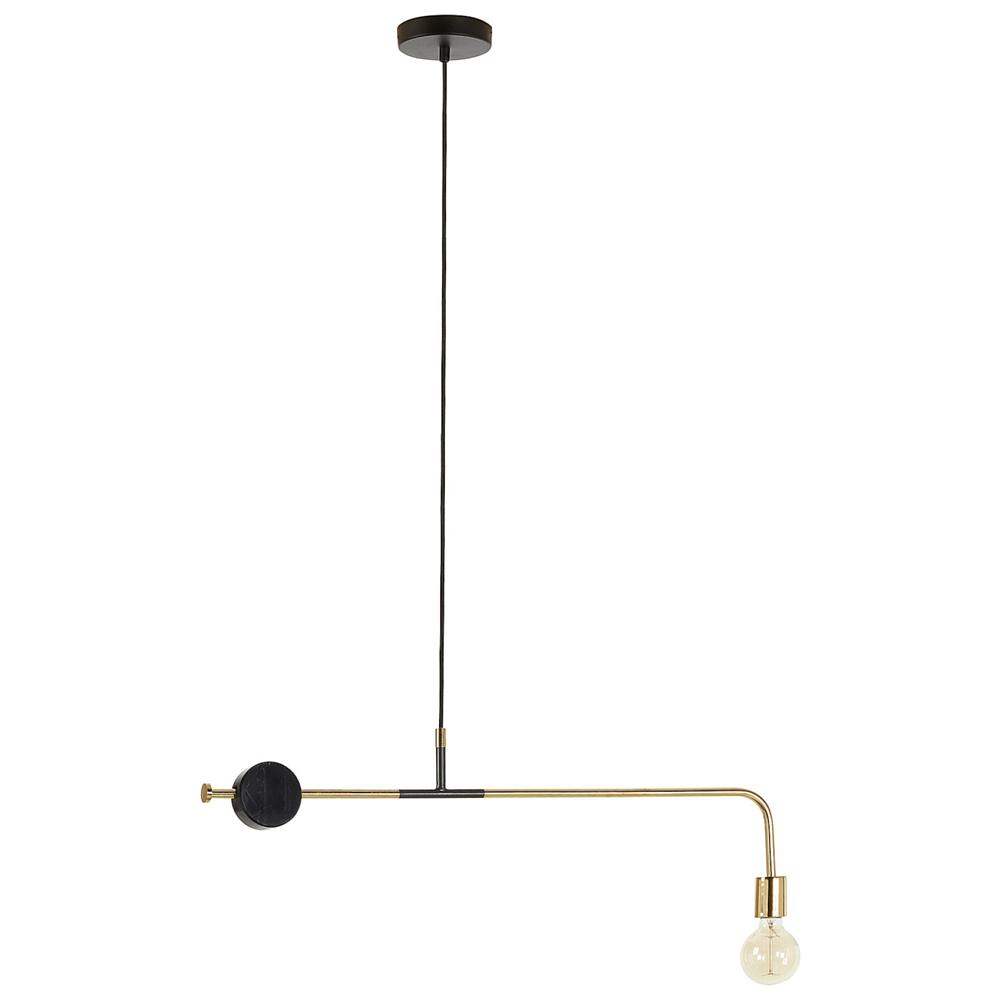Подвесная лампа WHOA с металлическим покрытием из алюминия от La Forma (ex Julia Grup)