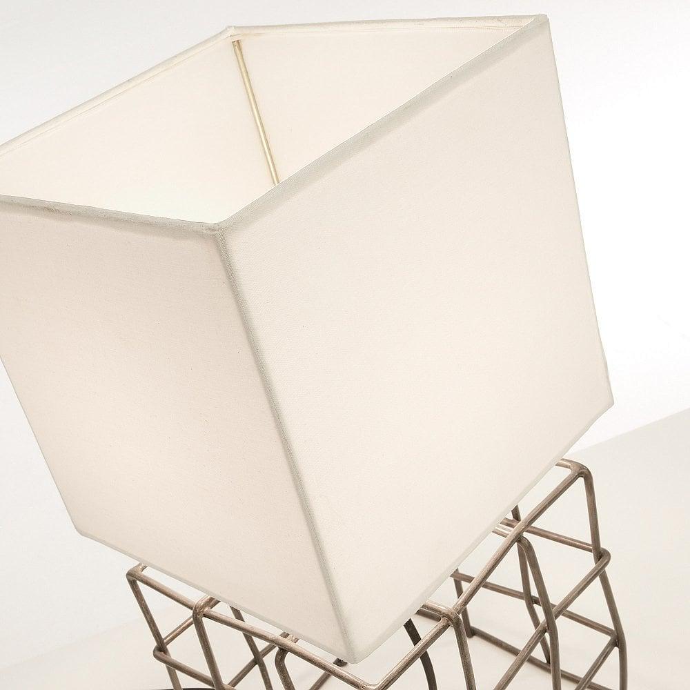 DOHERTI Настольная лампа металлический коричневый оттенок белый AA1446J33 от La Forma (ex Julia Grup
