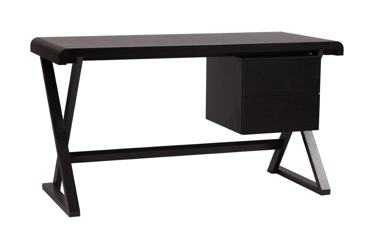 Купить Рабочий стол Preston Черный в интернет магазине дизайнерской мебели и аксессуаров для дома и дачи