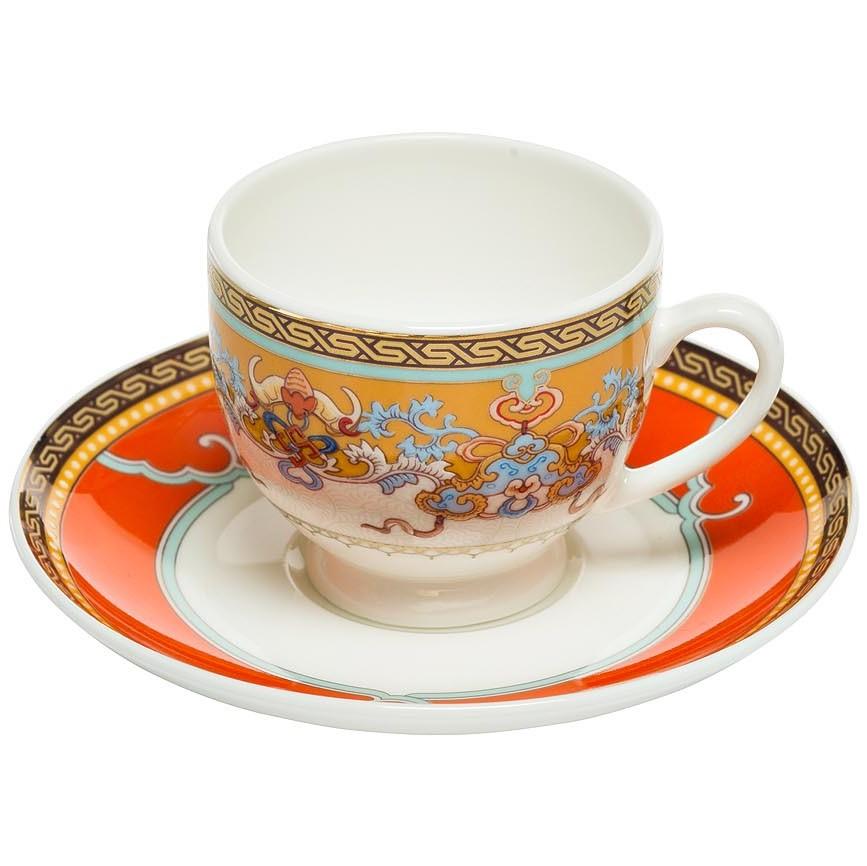 Чашка кофейная 100мл с блюдцем