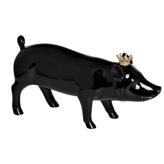 "Статуэтка ""Свинка с короной"" 18х5х9"