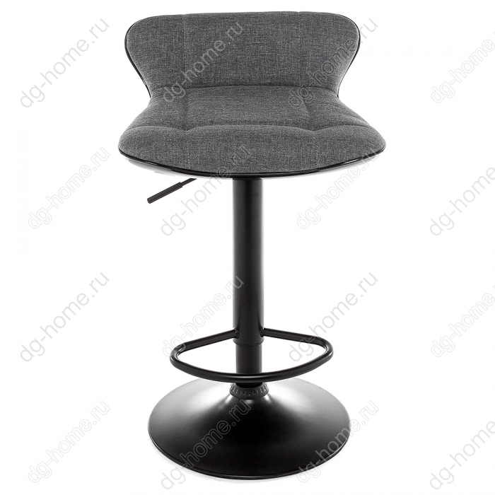 Барный стул Domus черный / серый