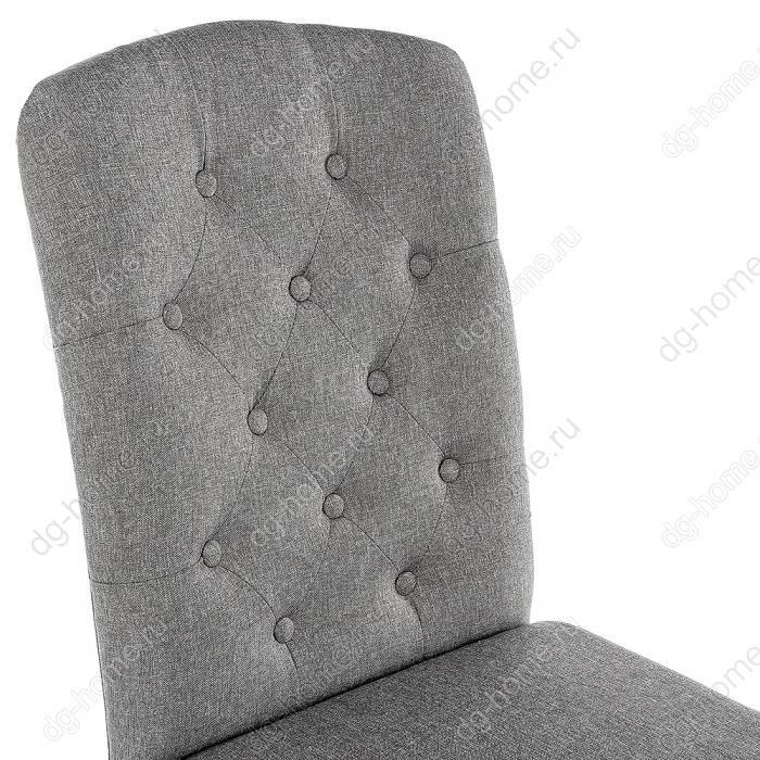 Стул деревянный Menson white / fabric pebble