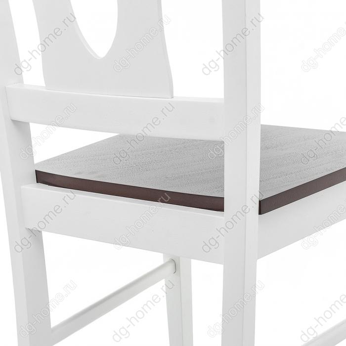 Стул деревянный Tivoli white / oak