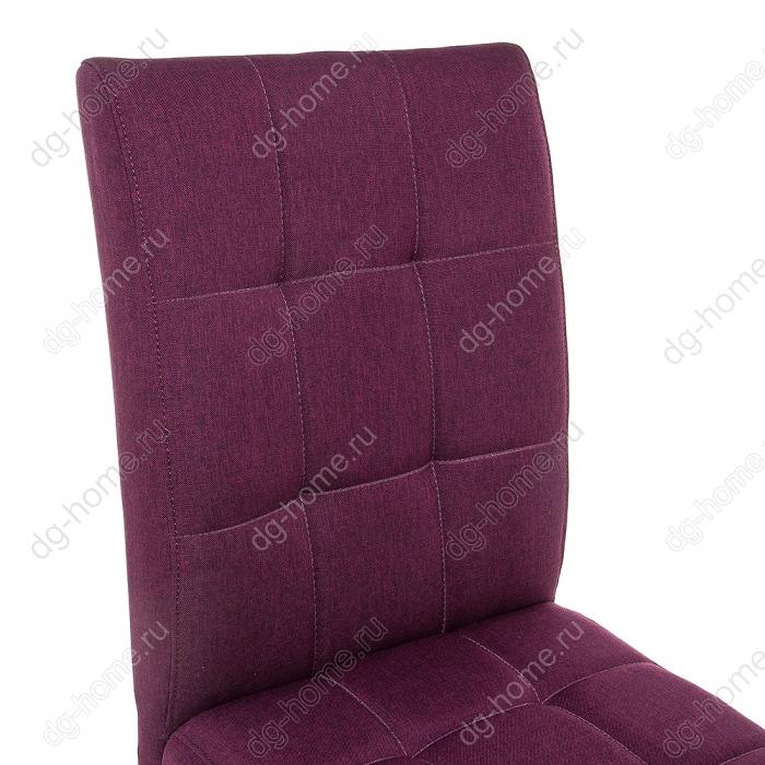 Стул деревянный Madina white / fabric purple