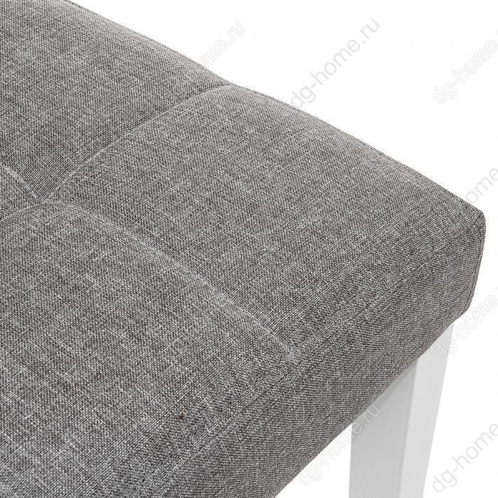 Стул деревянный Madina white / fabric pebble
