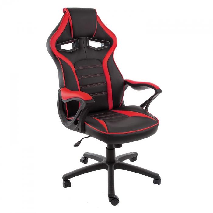 Компьютерное кресло Monza черное / красное