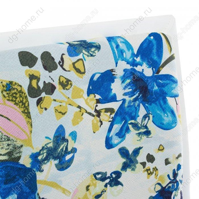 Компьютерное кресло Mis white / flowers fabric