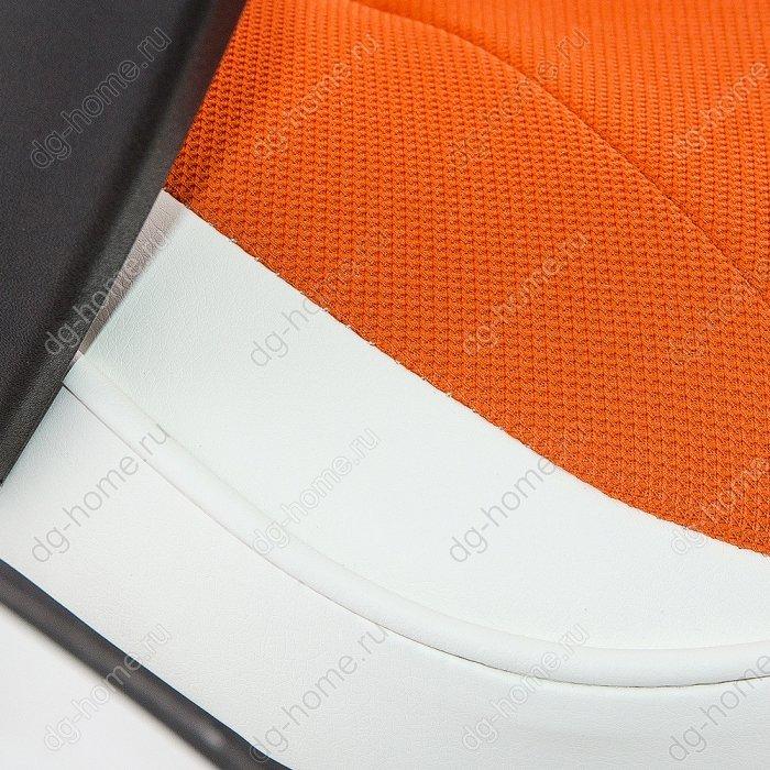 Компьютерное кресло Gamer белое / оранжевое