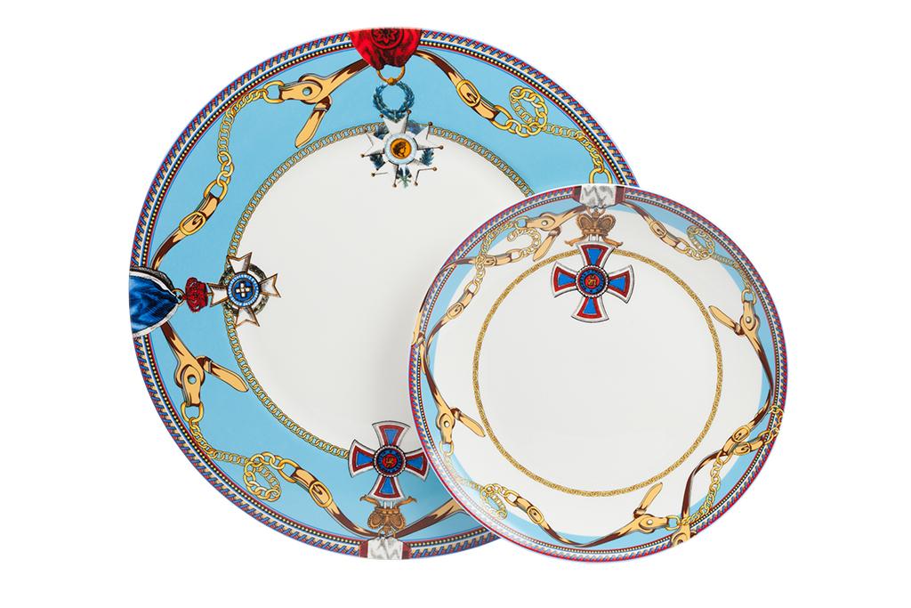 Купить Комплект тарелок Courage в интернет магазине дизайнерской мебели и аксессуаров для дома и дачи
