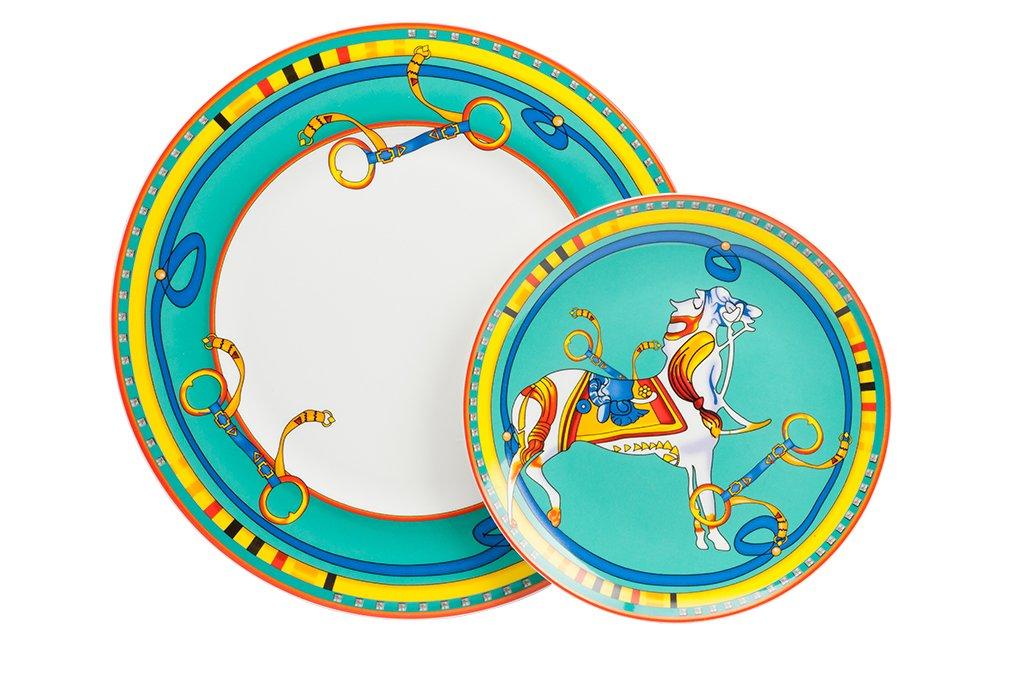 Купить Комплект тарелок Impossador (25.5 см) в интернет магазине дизайнерской мебели и аксессуаров для дома и дачи