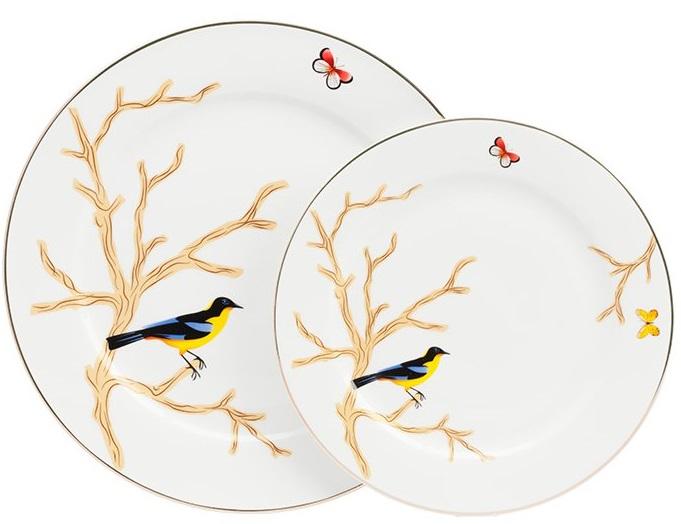 Купить Комплект тарелок Timouse в интернет магазине дизайнерской мебели и аксессуаров для дома и дачи