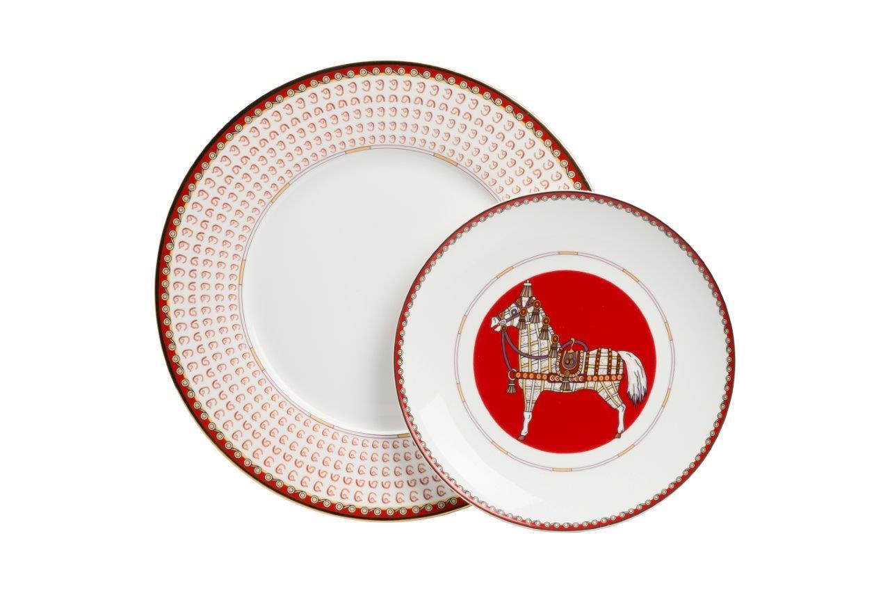 Купить Комплект тарелок Zanotty (25.5 см) в интернет магазине дизайнерской мебели и аксессуаров для дома и дачи