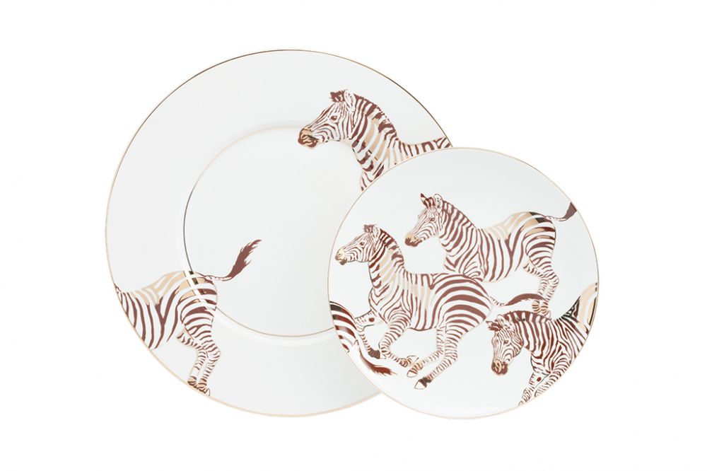 Комплект тарелок Cebra от DG-home