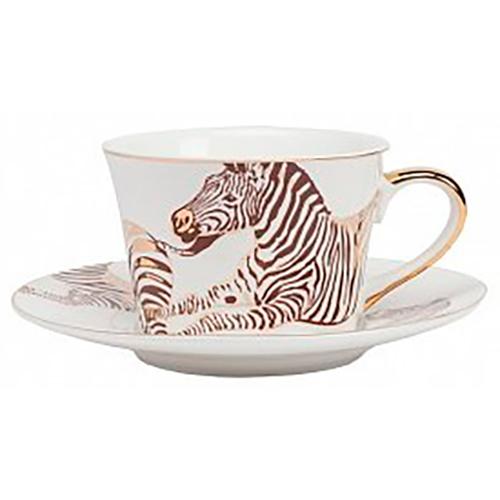 Купить Чайная пара Cebra в интернет магазине дизайнерской мебели и аксессуаров для дома и дачи