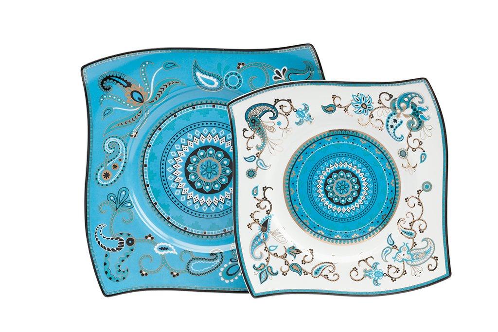 Купить Комплект тарелок Artblanc Blue в интернет магазине дизайнерской мебели и аксессуаров для дома и дачи