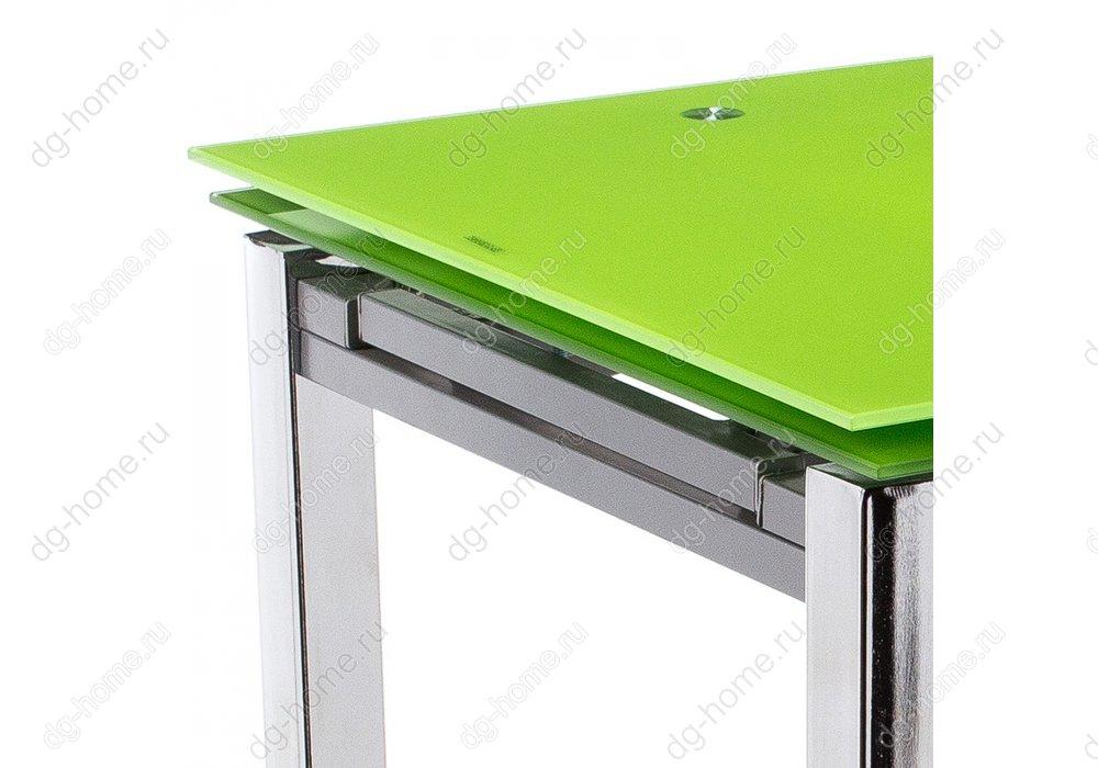 Стол стеклянный раскладной Kvadro 110