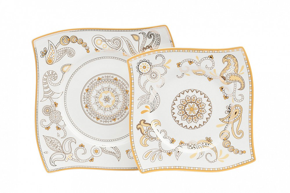 Комплект тарелок Artblanc Gold