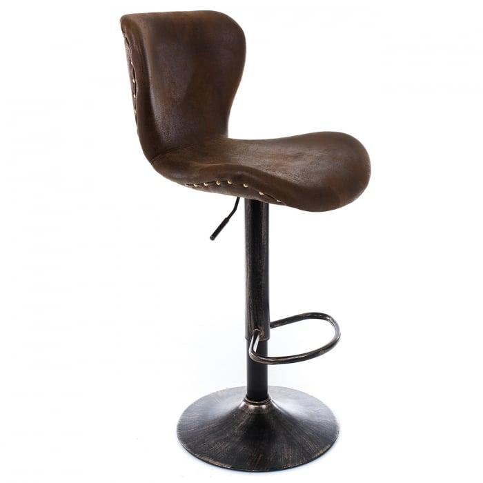 Барный стул Over vintage brown