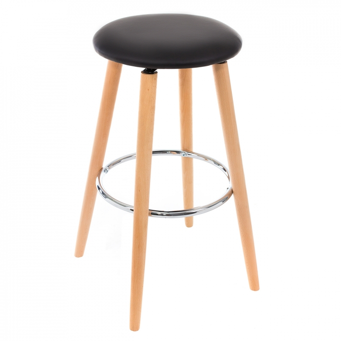Барный стул Ring черный
