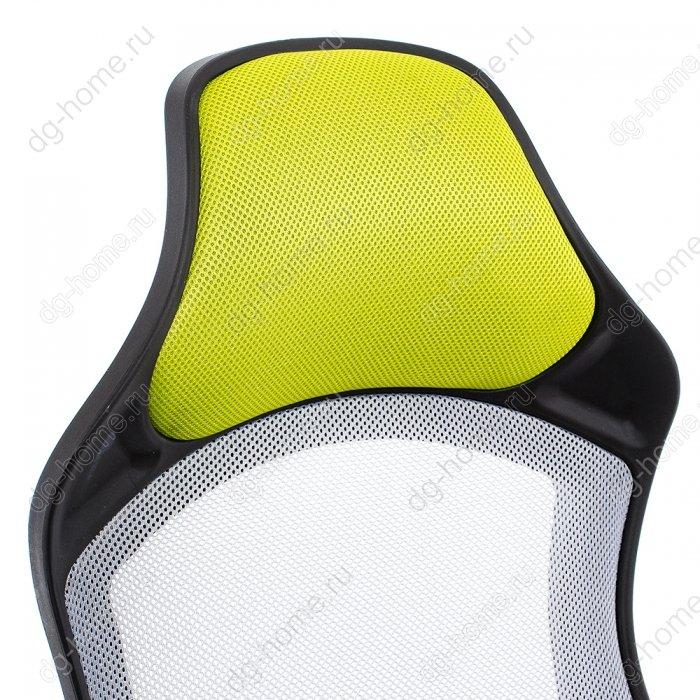 Компьютерное кресло Atlant белое / черное / зеленое