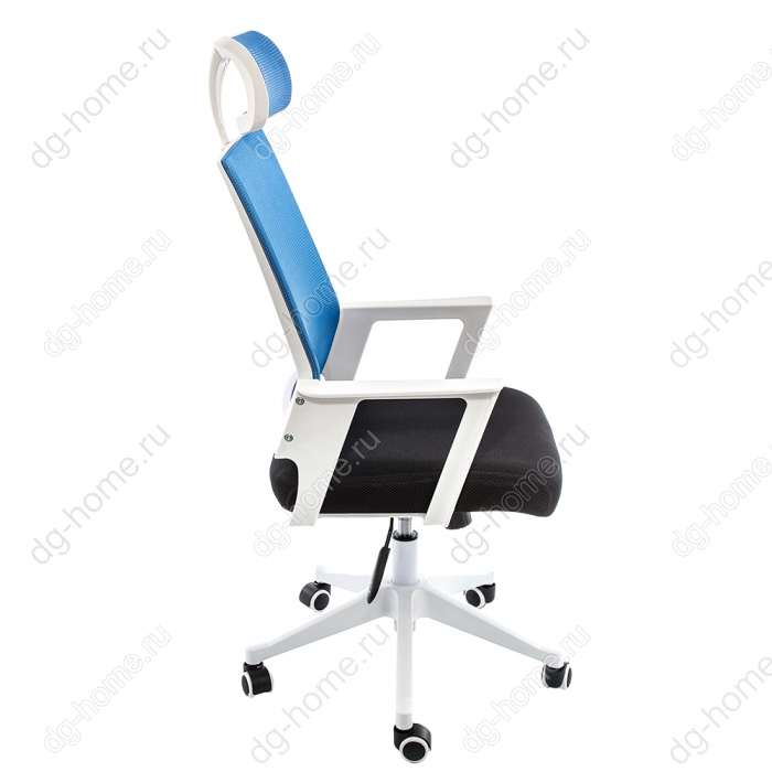 Компьютерное кресло Dreamer белое / черное / голубое