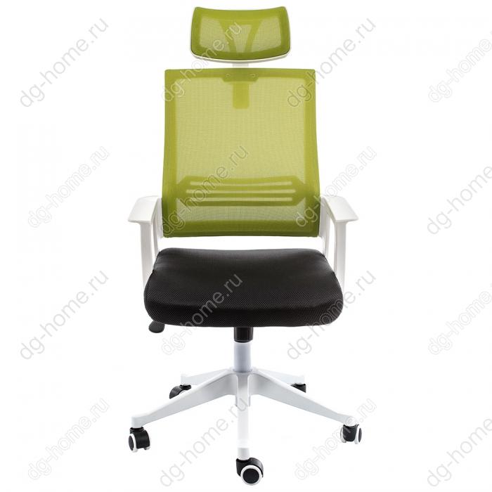 Компьютерное кресло Dreamer белое / черное / зеленое