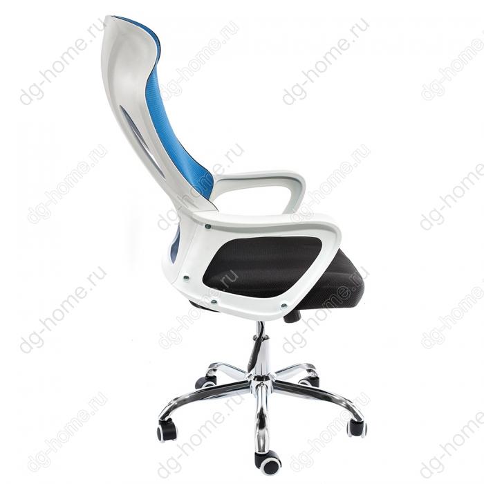 Компьютерное кресло Local черное / голубое