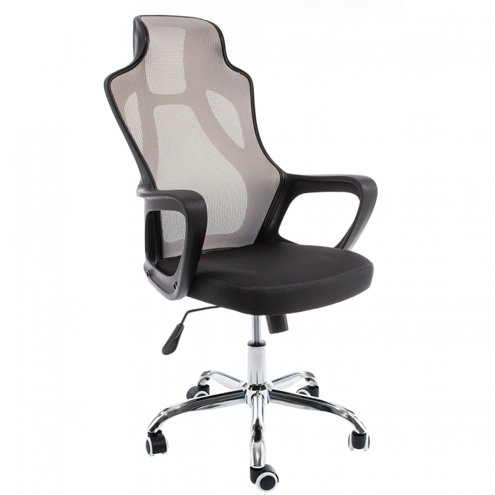 Компьютерное кресло Local черное / серое