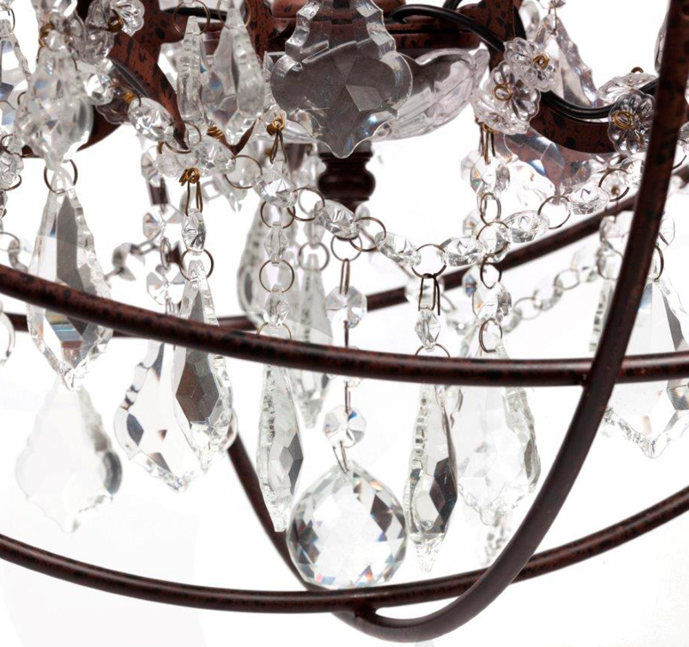 Люстра Foucault's Orb Crystal (45*45*40)
