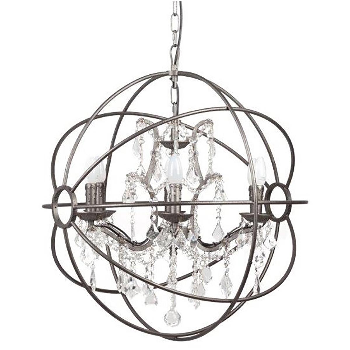 Купить Люстра Foucault's Orb Crystal (60*60*64) в интернет магазине дизайнерской мебели и аксессуаров для дома и дачи