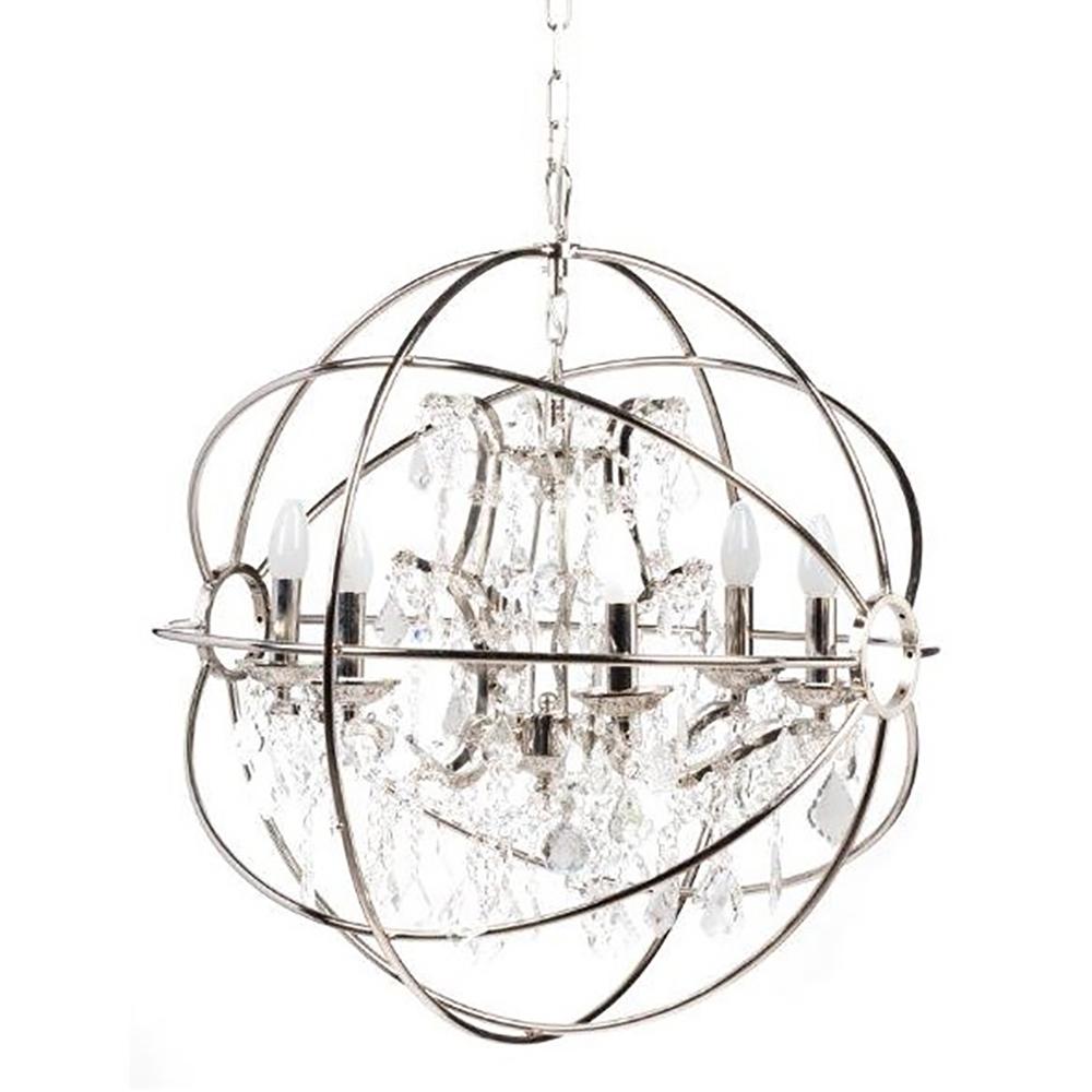 Купить Люстра Foucault's Orb Crystal (64*64*64) в интернет магазине дизайнерской мебели и аксессуаров для дома и дачи