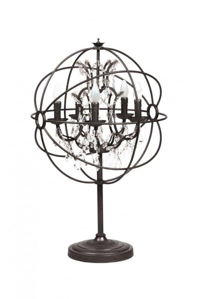 Настольная лампа Foucault's Orb Crystal, DG-TL91