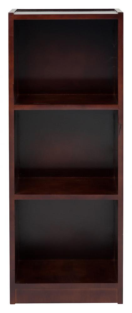 Стеллаж Woggy Dark Brown DG-HOME Небольшой стеллаж Woggy тёмно-коричневого  цвета выполнен в классическом стиле из  массива натурального дерева, с тремя вместительными  открытыми полками, прекрасно подойдет для  хранения книг, предметов декора, фотографий,  оргтехники. Простой на вид, но прочный и  выносливый, благодаря использованию качественных  материалов, прослужит долгие годы, сохранив  свой изумительный вид. Благодаря своему  дизайну стеллаж набирает популярность,  он образец комфорта и изящества. Достаточно  практичная модель, выглядит элегантно и  свежо, станет украшением вашего дома. Прекрасная  возможность для создания определенного  стиля — стеллаж Woggy из натуральной древесины!