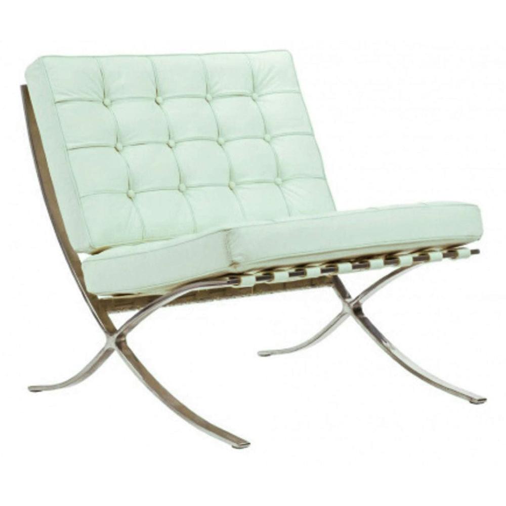 Фото Детское кресло Barcelona Chair Тиффани Кожа Класса  Премиум. Купить с доставкой
