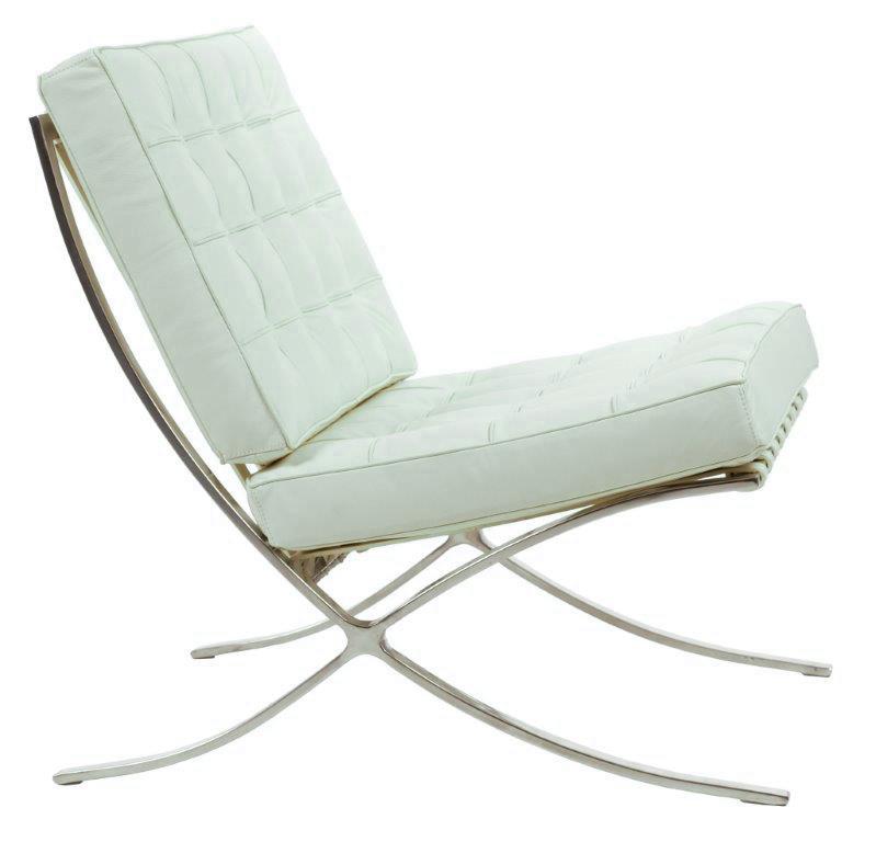 Детское кресло Barcelona Chair Тиффани Кожа Класса Премиум Р