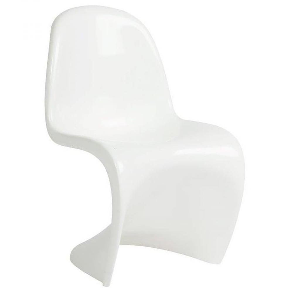 Детский стул Pantone БелыйКресла детские<br>Детский стул Pantone — это уменьшенная на <br>четверть версия стула для взрослых, форма <br>которого напоминает естественные изгибы <br>тела. Его прототипом послужил легендарный <br>Panton Chair, разработанный датским дизайнером <br>Вернером Пантоном (Verner Panton), который всю <br>жизнь трудился над идеальными пропорциями <br>этой модели и в конечном итоге создал стул, <br>ставший современной классикой. Модель без <br>ножек, подлокотников и спинки, изготавливается <br>из прочного пластика и отличается особой <br>легкостью и разнообразием цветовых решений. <br>Идеальная рельефная форма, плавные линии <br>изгибов, устойчивая платформа – все эти <br>характеристики делают стул Pantone удобным, <br>надежным и стильным. Этот оригинальный <br>и модный стул отлично впишется в современный <br>интерьер в стиле хай-тек и может быть использован <br>не только для сидения, но и в качестве игрушки, <br>с которой дети не хотят раставаться. В нашем <br>интернет-магазине высококачественная реплика <br>стула Pantone доступна в шести цветовых вариациях <br>— выбирайте!<br><br>Цвет: Белый<br>Материал: Стекловолокно<br>Вес кг: 8<br>Длина см: 31<br>Ширина см: 32<br>Высота см: 54
