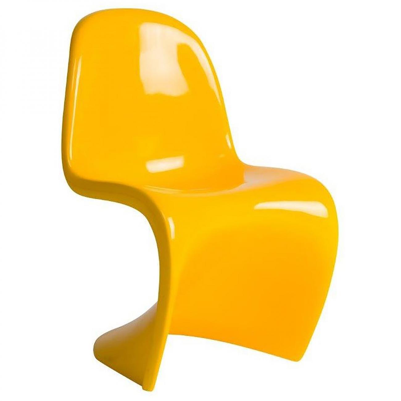 Купить Детский стул Pantone Желтый в интернет магазине дизайнерской мебели и аксессуаров для дома и дачи