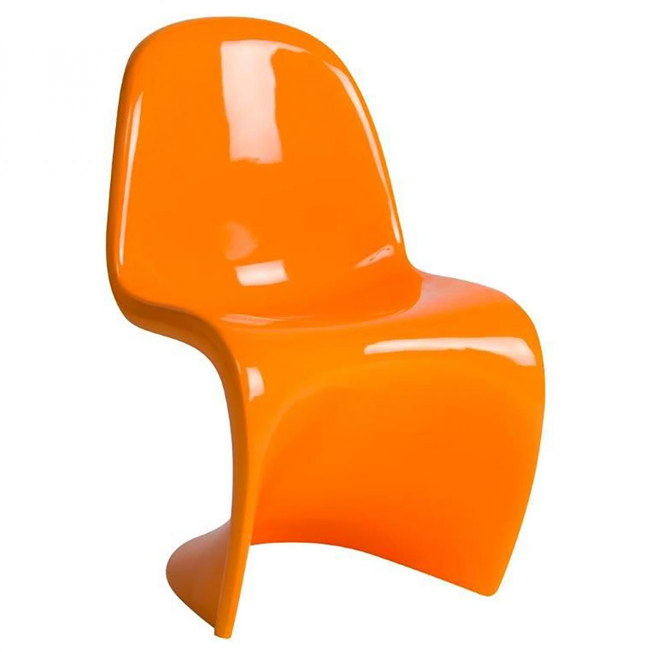 Купить Детский стул Pantone Оранжевый в интернет магазине дизайнерской мебели и аксессуаров для дома и дачи
